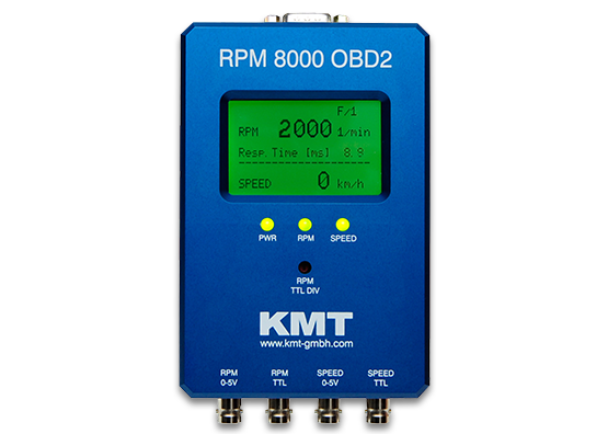 RPM-8000-OBD2 RPM and speed measurement